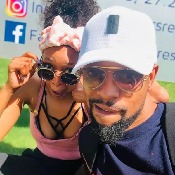 Mandy Hlongwane and SK Khoza