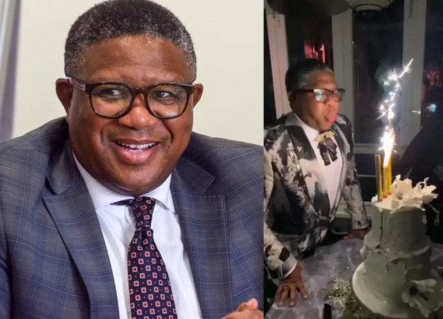 Video of Minister Fikile Mbalula blowing off fireworks leaves Mzansi in stitches