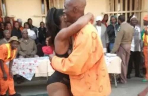 strip show in prison