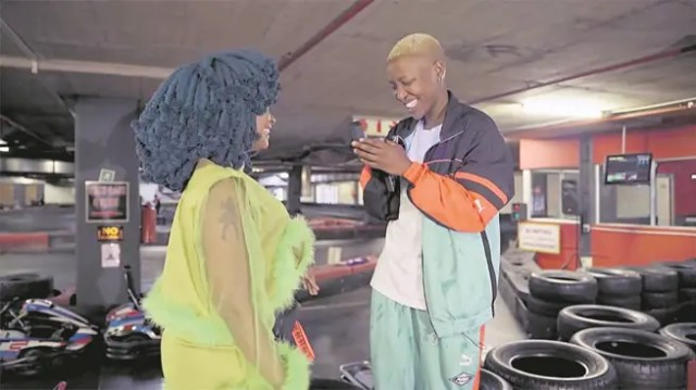 Gontse More and Moonchild Sanelly