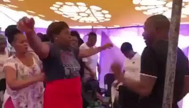 Prophet beats up female congregant as he casts out the demon