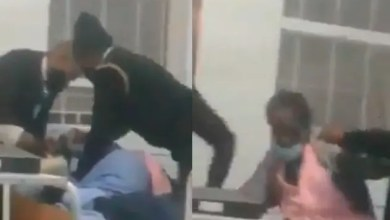 SAD video of 2 security guards beating up an elderly patient at KZN hospital