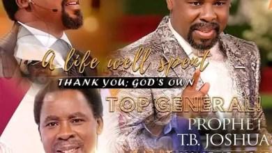 Senior Prophet TB Joshua