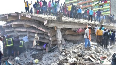 Several people trapped after Nairobi bridge collapse