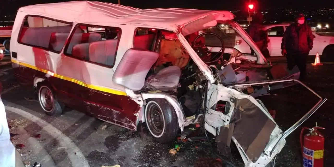 Two seriously injured in Midrand collision