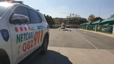 Worker crushed by bag at construction site