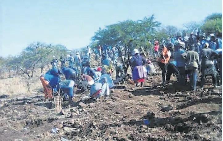 discovery of diamonds in KZN