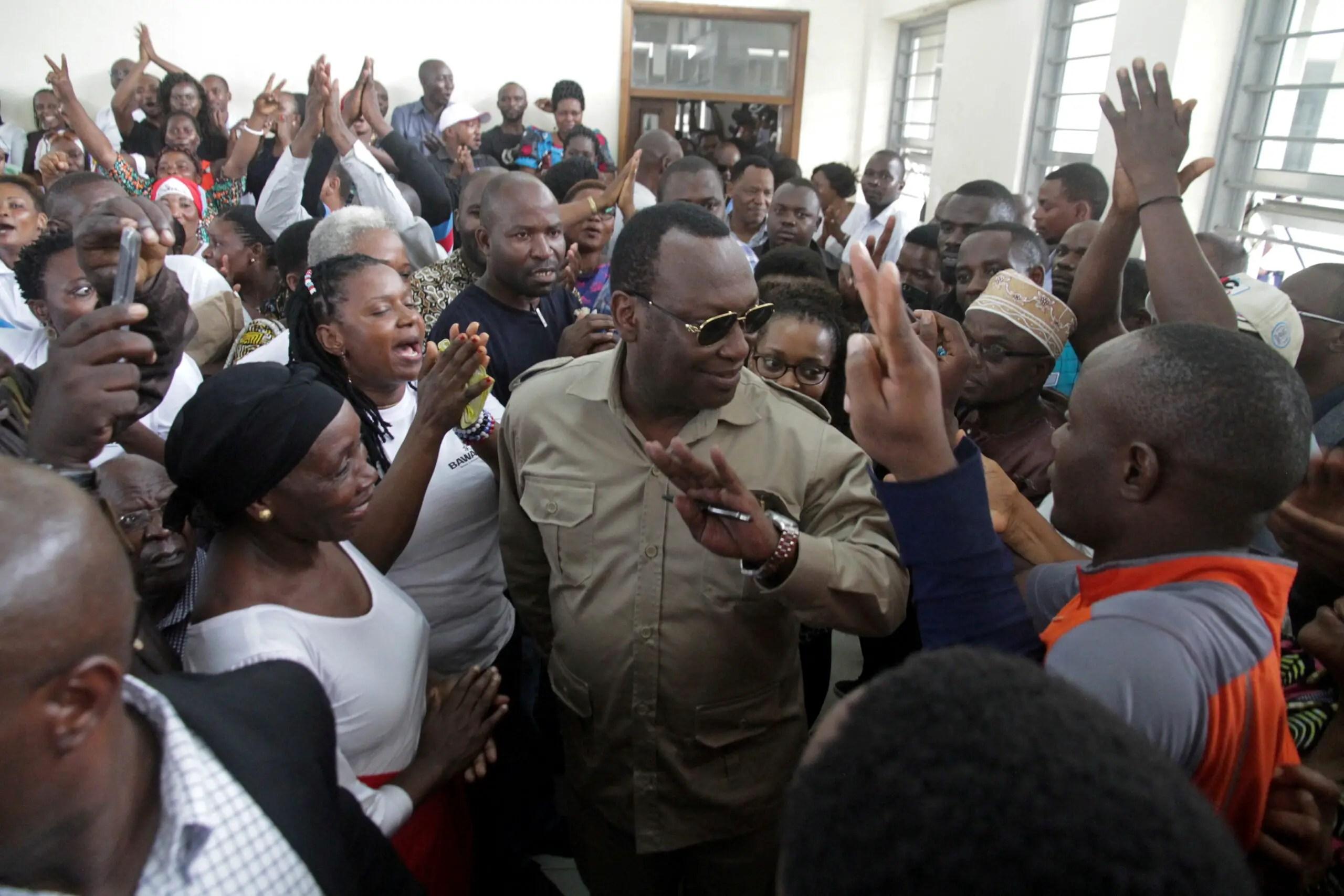 Chadema chairman Freeman Mbowe