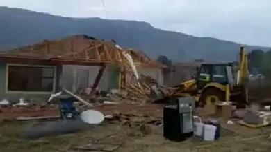 Drama as SA woman demolishes family house after failed marriage