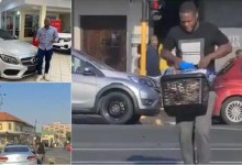 Man who was caught on viral video looting basket of goods from Woolworths food store sent to Westville prison