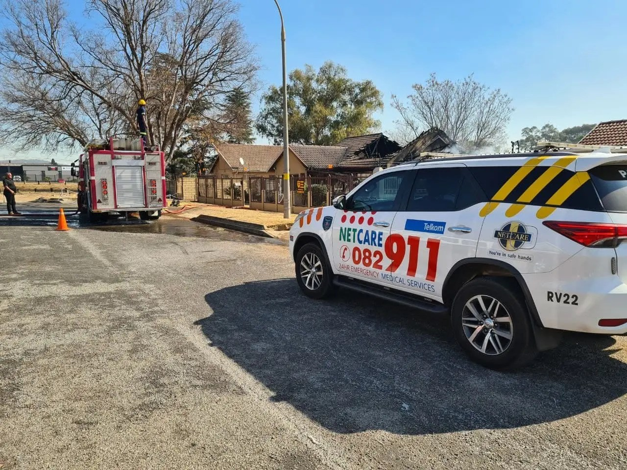 No injuries reported in Alberton house fire