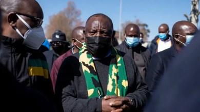 Ramaphosa in Soweto