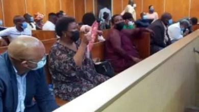 Sindiswa Gomba in court