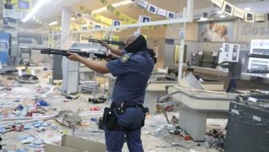 police looting