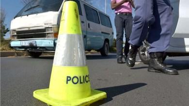 traffic police roadblock