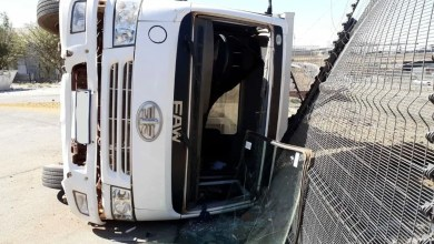 Driver injured in rollover