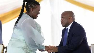 KZN health MEC Nomagugu Simelane-Zulu and Premier Sihle Zikalala