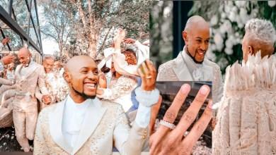 Mohale and Somizi wedding