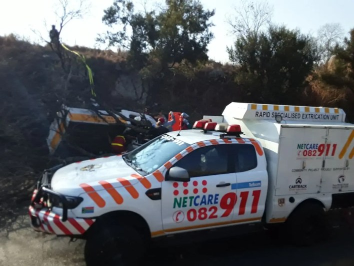 One dead, four other seriously injured in bakkie roll-over
