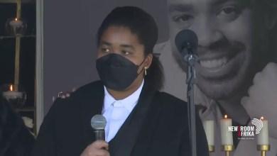Shona Ferguson's daughter Alicia last tribute to her father
