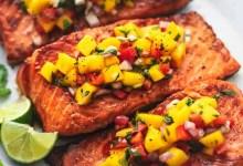 mango salmon