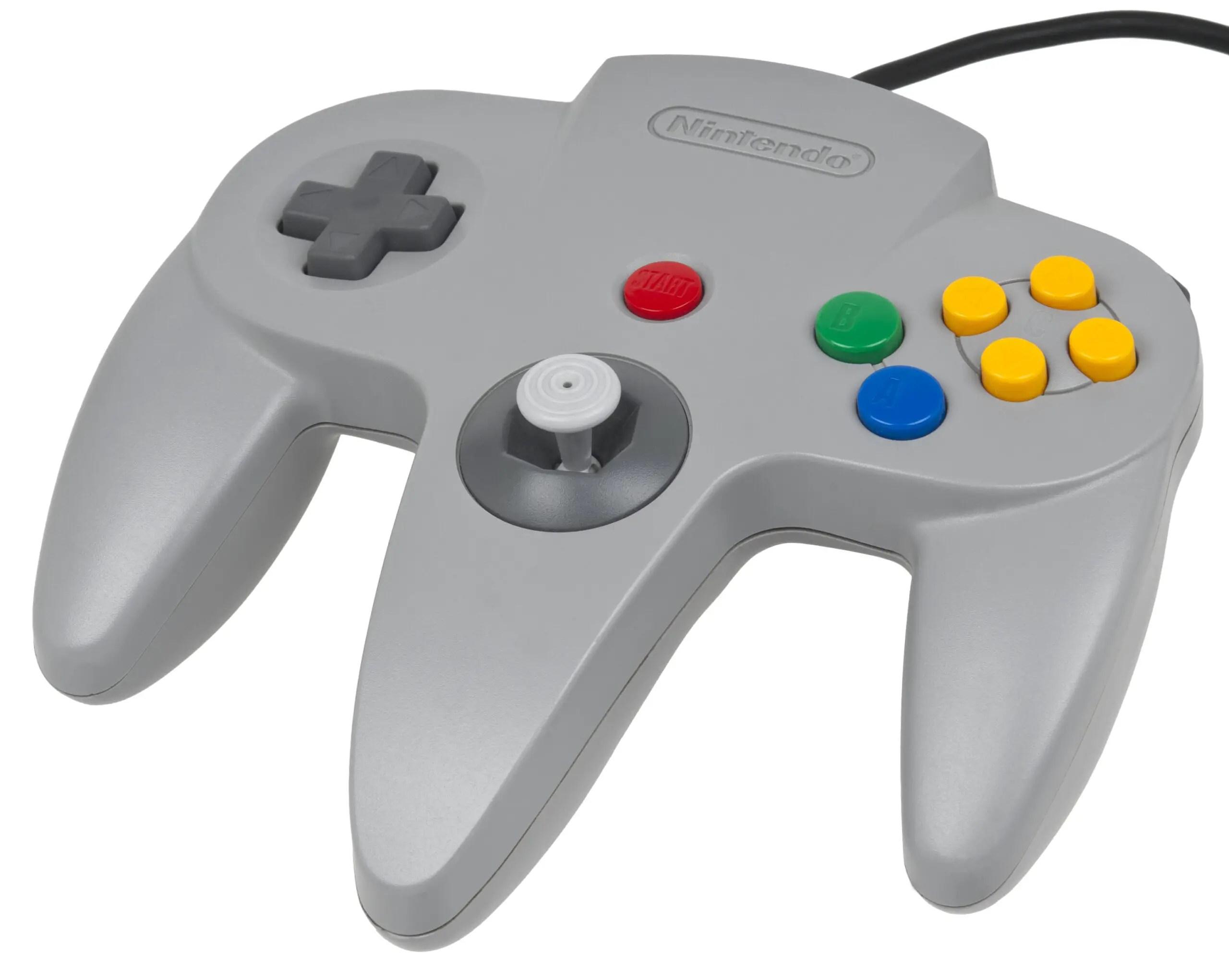 Nintendo N64 game controller