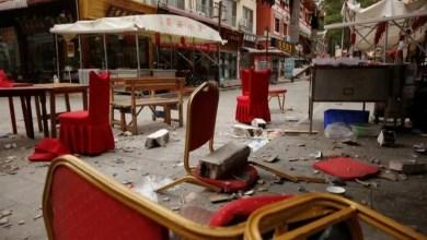 Three people were killed and dozens injured