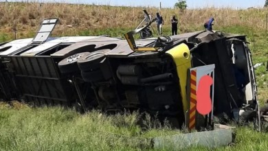 9 dead after bus plunges into river in KZN