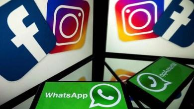 Facebook, Instagram and WhatsApp