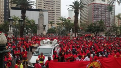 Numsa's countrywide march in Gqeberha