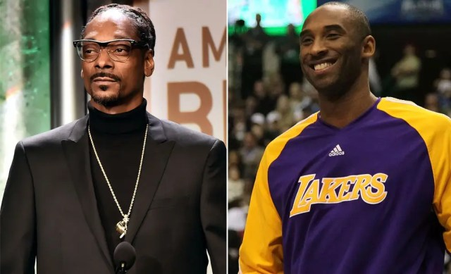 Snoop Dogg and Kobe Bryant