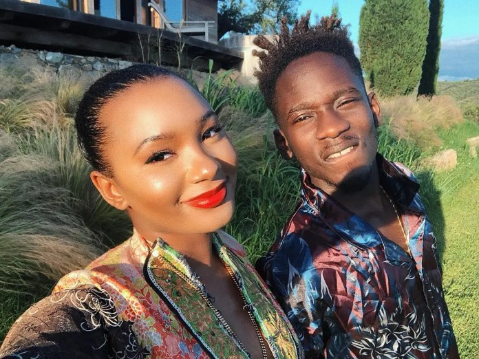 Mr Eazi and Temi Otedola celebrate their 3 years anniversary with a sweet Picture