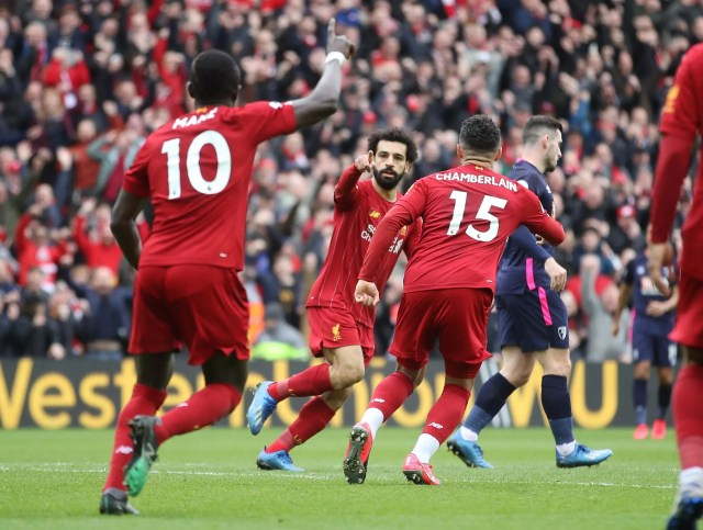 Liverpool 2 -1 Bournemouth