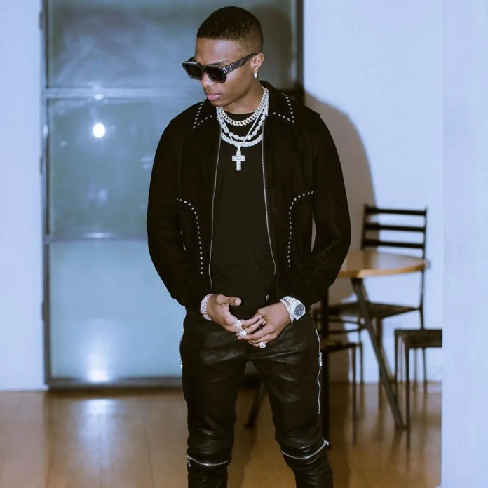 Nigerians react as young artist draws WizKid's Made In Lagos album cover