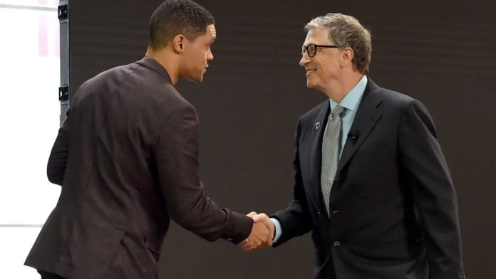 Trevor Noah on getting death threats for his Interview with Bill Gates