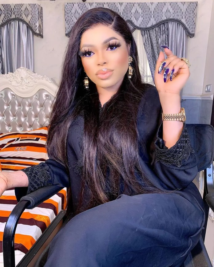 Bobrisky shades Tonto Dikeh shortly after her motivational quote