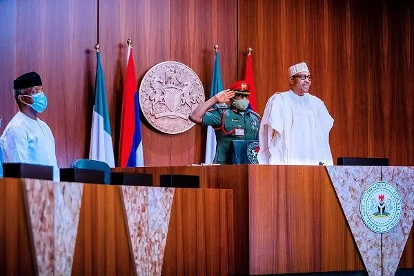 President Buhari's meeting with North-East Governors: Pics