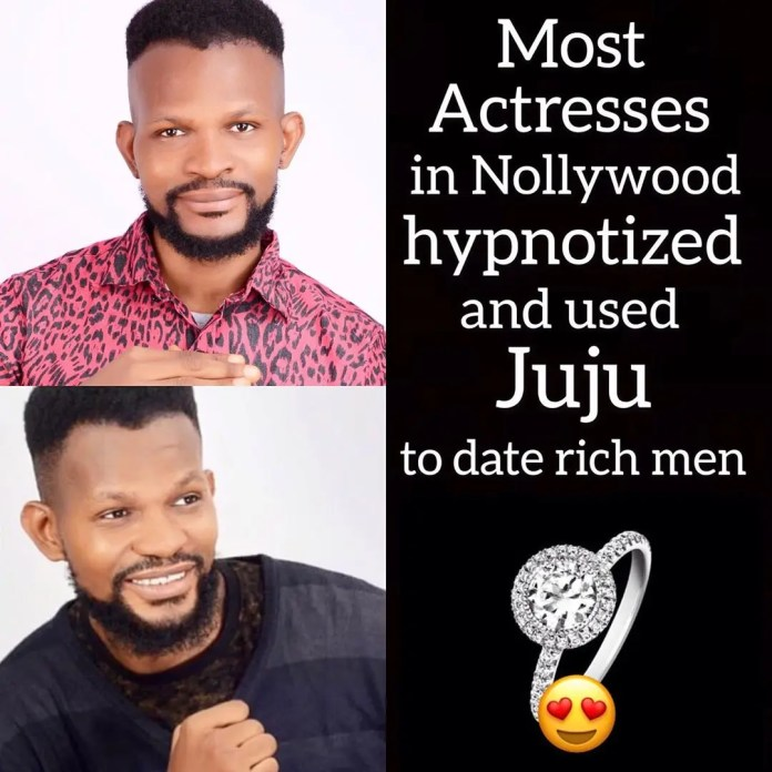 Uche Maduagwu exposes Nollywood actresses who use charm to lure wealthy men