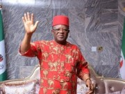 Governor Dave Umahi has recovered from a month of corona