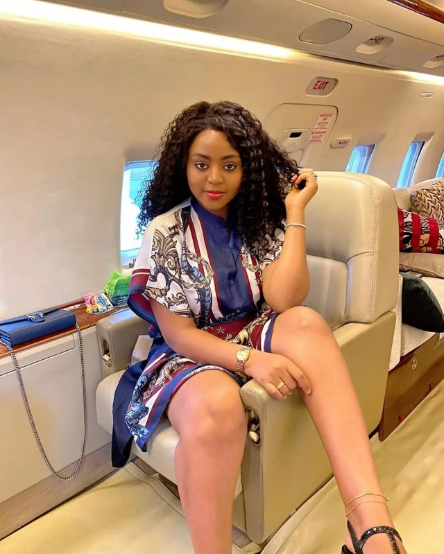 Regina Daniels shows off Ned Nwoko