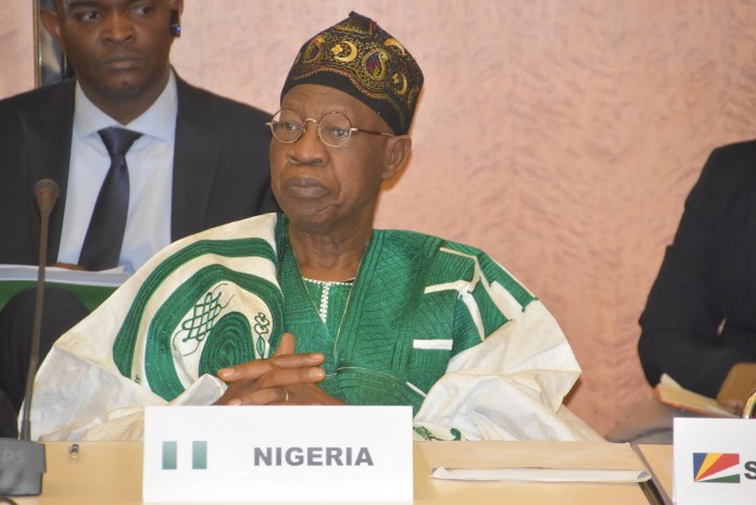 Lai Mohammed: Nigeria's security situation better than in 2015