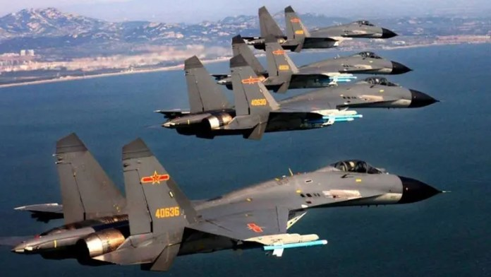 China flies 28 warplanes close to Taiwan in an early test of Biden's foreign policy