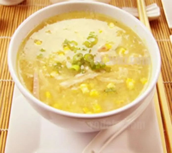 Chicken and sweetcorn soup – Recipe
