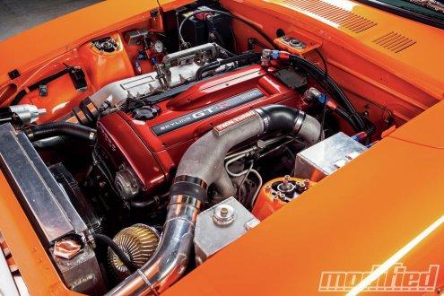 1970-datsun-240z-RB26DETT-turbo-engine