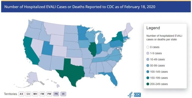 DEA: COVID-19 has put EVALI outbreak on the back burner   WOAI