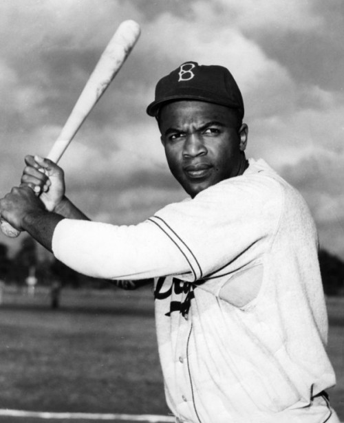 The great Jackie Robinson remains one of the icons in Major League Baseball. Photo Courtesy of National Baseball Hall of Fame and Museum.