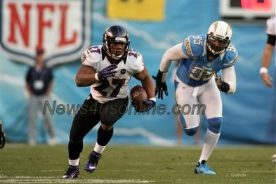 Ray Rice doing his thing. Photo Credit: J. Gaede