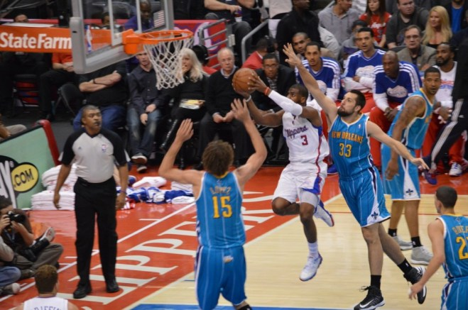 Chris Paul (3) has been the ringleader in leading the resurgence of the Los Angeles Clippers. Photo Credit: Ronald Jenkins