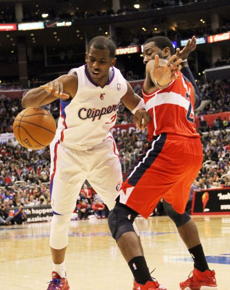 The Los Angeles Clippers  were without the services of Chris Paul against the Oklahoma City Thunder. Photo Credit: Burt Harris
