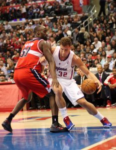 Blake Griffin(32)  has helped turn the Los Angeles Clippers into a team to be reckoned with. Photo Credit: Burt Harris